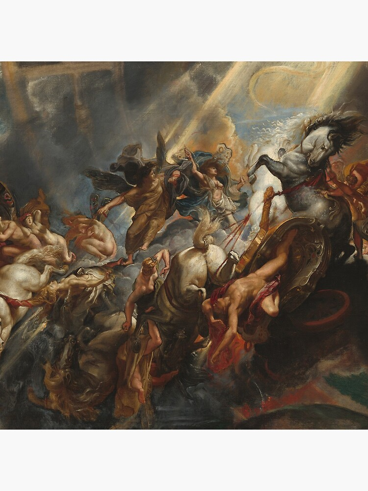 The Fall of Phaeton Oil Painting by Sir Peter Paul Rubens by podartist