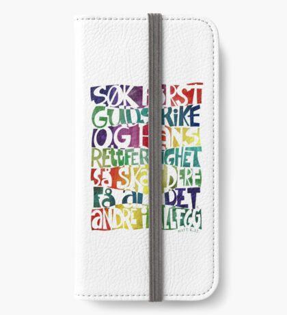 Søk først Guds rike iPhone Wallet