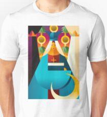second tarot card the high priestess popess T-Shirt