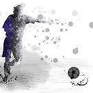 Fußballspieler 10 von Marlene Watson