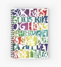 Søk først Guds rike Spiral Notebook