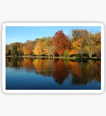 Zen Lake - Peaceful, Tranquil Nature Print Sticker