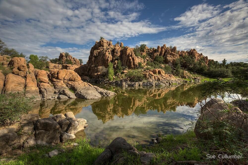 Granite Dells by Sue  Cullumber