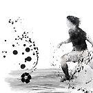 Fußballspieler 8 von Marlene Watson