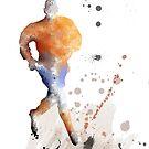 Fußballspieler 7 von Marlene Watson