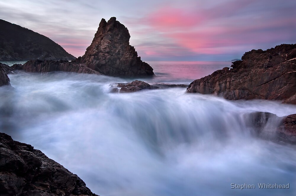 Pacific Morning by Stephen  Whitehead