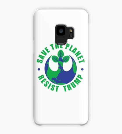 Save The Planet Resist Trump Case/Skin for Samsung Galaxy