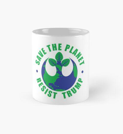 Save The Planet Resist Trump Mug