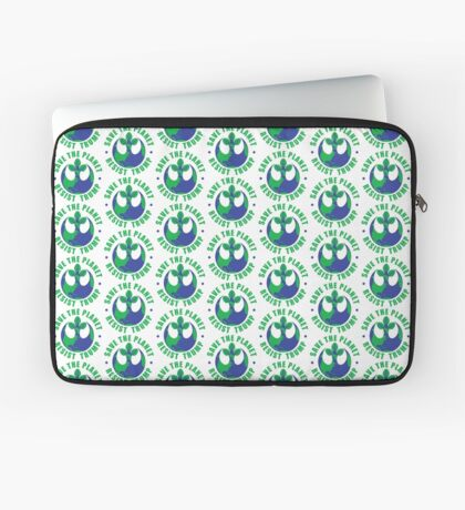 Save The Planet Resist Trump Laptop Sleeve