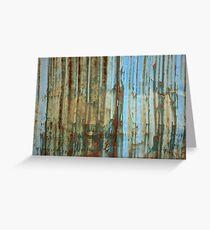 Rusty wall Greeting Card