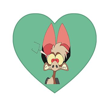 I Love Batty Heart | Fern Gully by thepinecones