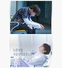 BTS (방탄소년단) LOVE YOURSELF - Jungkook (정국) and Suga (슈가) Poster
