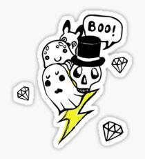 Boo! Sticker