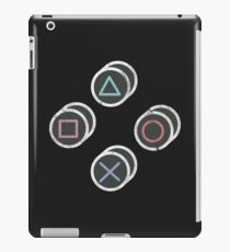 Retro Gamer Controller Buttons iPad Case/Skin
