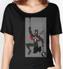 Amalgam Black Lantern Spider-Bat Women's Relaxed Fit T-Shirt
