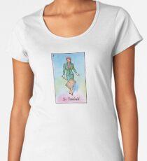 Loteria: La Feminist / La Dama Women's Premium T-Shirt