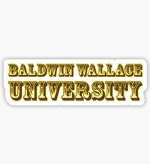 Baldwin Wallace University Sticker