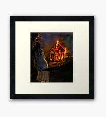 Burn it all away... Framed Print
