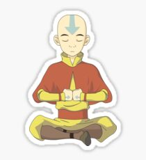 Avatar Aang (Anime: Avatar the Last Airbender) Sticker