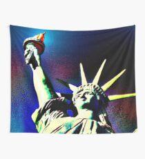 Lady Liberty Wall Tapestry