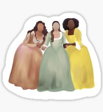 The Schuyler Sisters - Hamilton Chicago Sticker