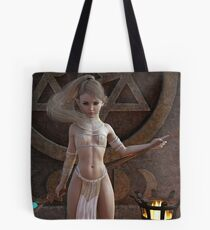 Formidable Zoe the White Tote Bag
