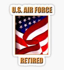 U.S. Air Force, Retired Sticker