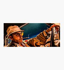fear and loathing print Photographic Print