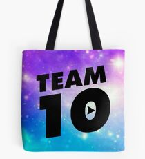 galaxy team 10- jake paul Tote Bag