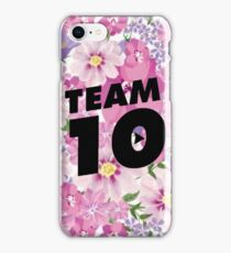 floral team 10- jake paul iPhone Case/Skin