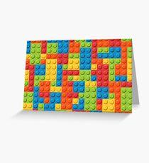 LEGO BLOCKS! Greeting Card