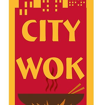 City Wok Logo by Habitue