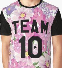 Floral Team 10- Jake Paul Graphic T-Shirt