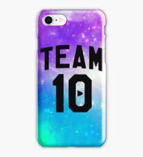 galaxy team 10- Jake Paul iPhone Case/Skin
