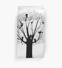Musical Tree - Australian Bird Calls Duvet Cover