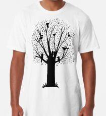 Musical Tree - Australian Bird Calls Long T-Shirt