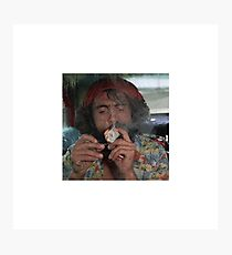Chong smoking a fat joint Photographic Print