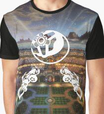 "Rocket League® - ""Colliding Aerial"" in Utopia T-shirt & Memorabilia Graphic T-Shirt"