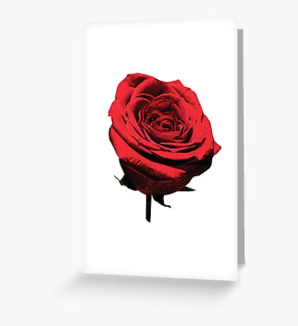 Red, Red Rose Greeting Card