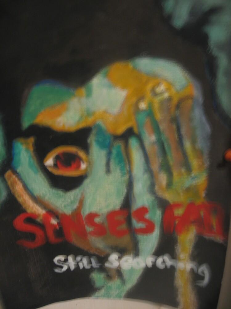 re creation of a senses fail poster by shearocks