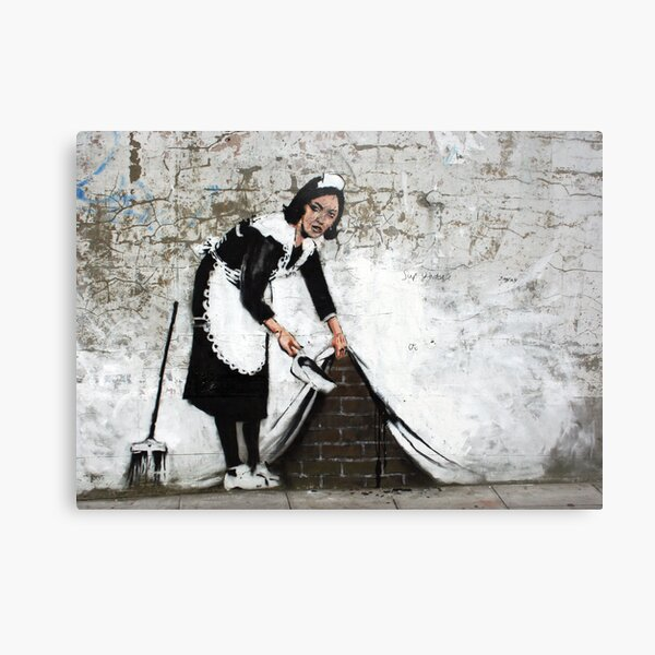 sweep it under the carpet Metal Print