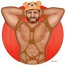 Kinky Bear by barebeef