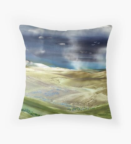 Storm Passing Throw Pillow