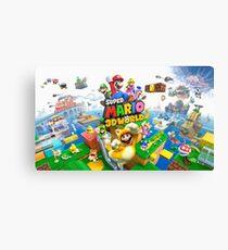Super Mario 3D World game art Canvas Print