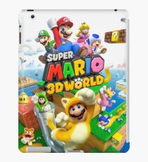 Super Mario 3D World game art iPad Case/Skin