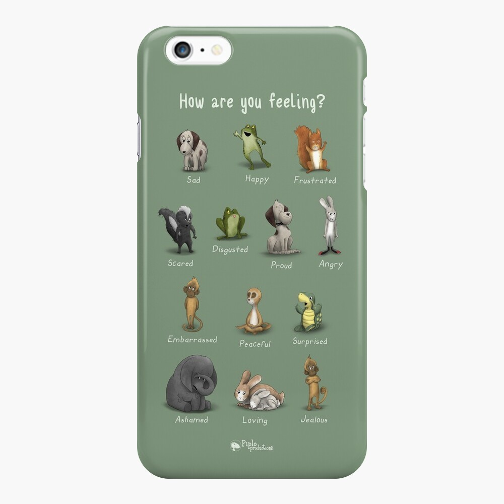How Are You Feeling? iPhone Case & Cover