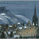 Edinburgh Winter 1 by Ross Macintyre