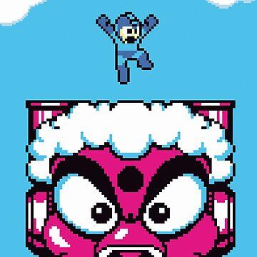 Mega Man by Habitue