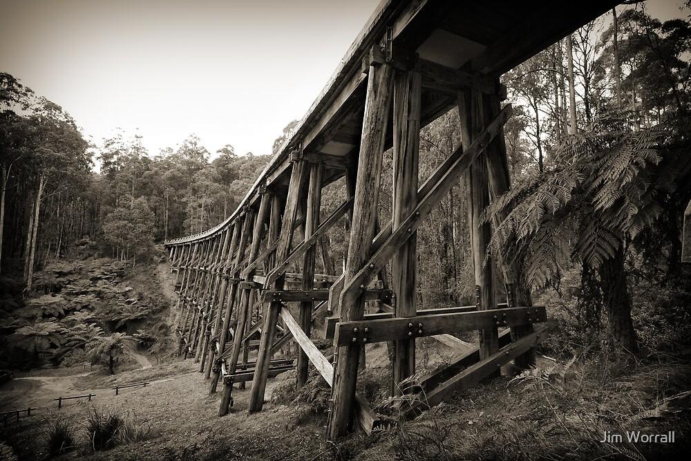 Noojee Trestle Bridge by Jim Worrall