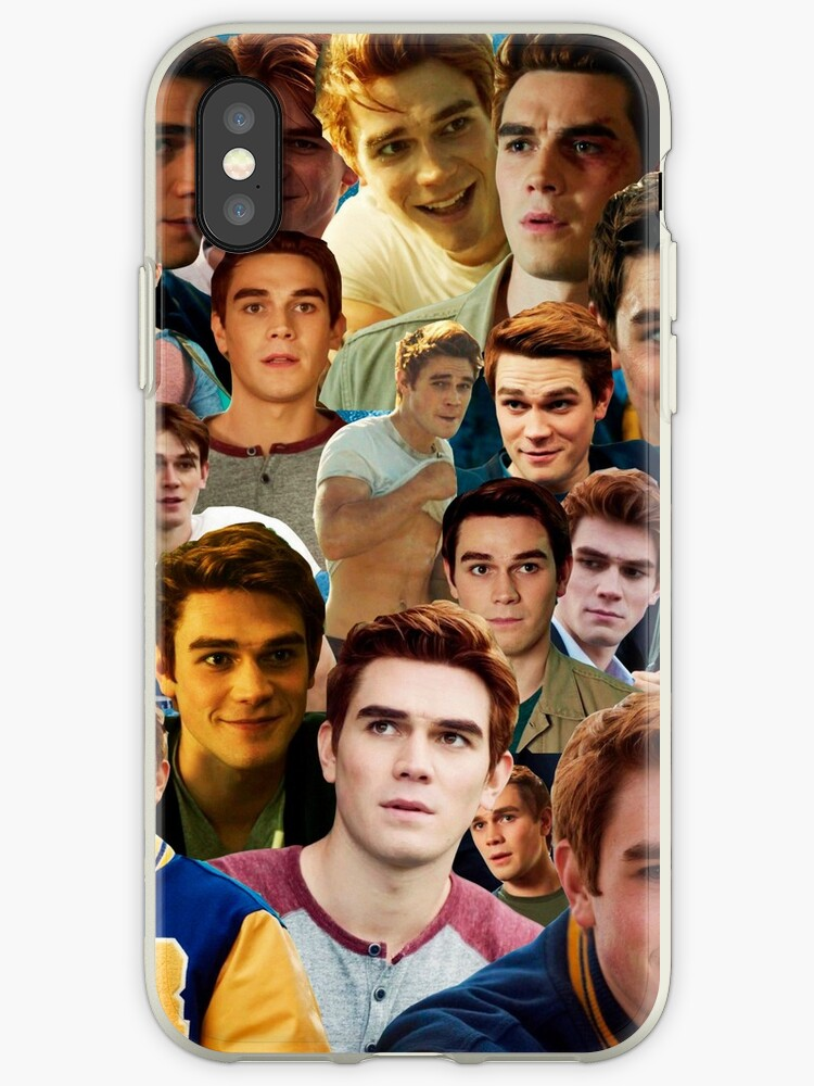 new arrival 419fb df2a7 'Riverdale: Archie Andrews Collage' iPhone Case by lewiskaty